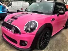 Pink Vinyl Car Wrap