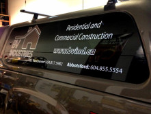 BV Partial Vehicle Wrap