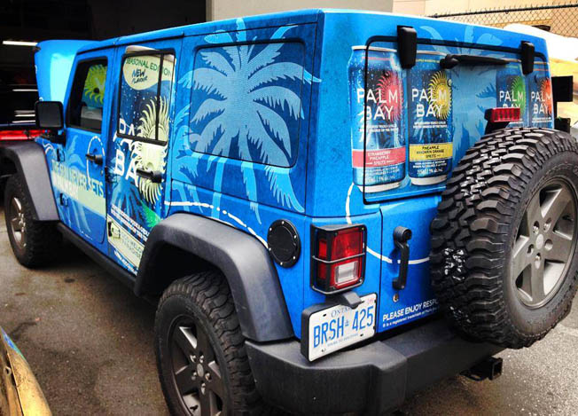 Palm Bay Full Jeep Wrap
