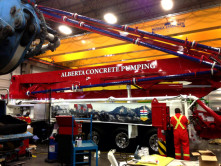 Alberta Concrete Pump Wrap