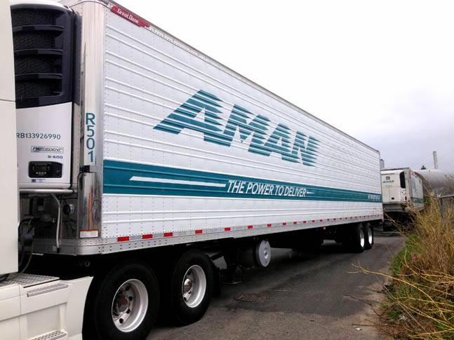 Aman Trailer Decals