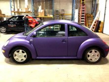 Beetle Full Vinyl Wrap