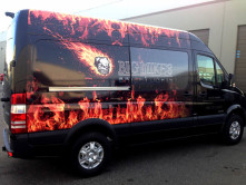 Big Mike's Full Van Wrap