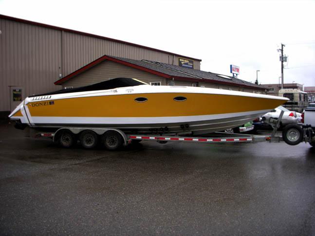 Boat Vinyl Wrap - Wrap Guys