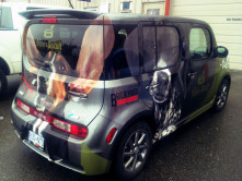 Bone Biscuit Full Vehicle Wrap