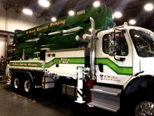 O'Brien Concrete Pump Wrap