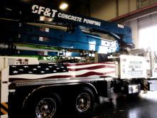 CF&T Concrete Pump Graphics - Wrap Guys