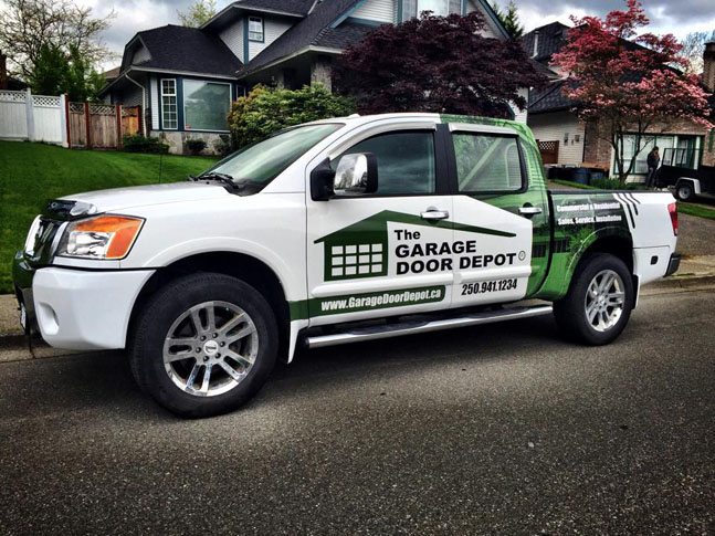 The Garage Depot Truck Wrap - Wrap Guys