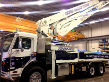 Custom Concrete Pump Wrap