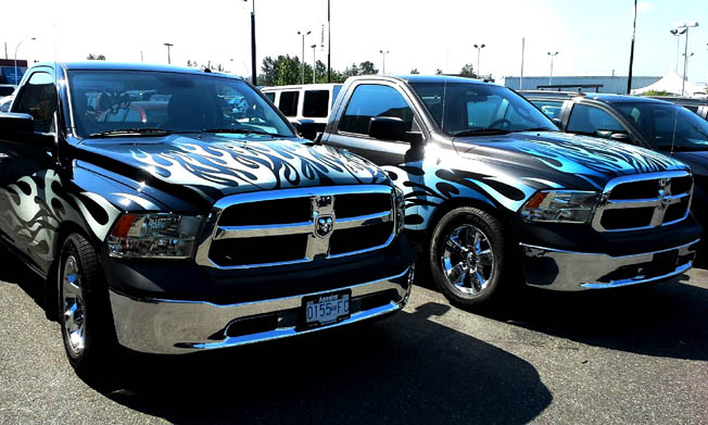 Custom Truck Vehicle Wraps - Wrap Guys