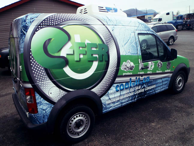 E-Fer Full Vehicle Wrap