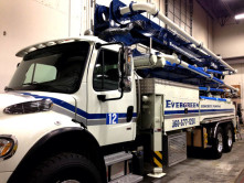 Evergreen Concrete Pump Wrap