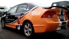 Eximus Partial Car Wrap - Wrap Guys