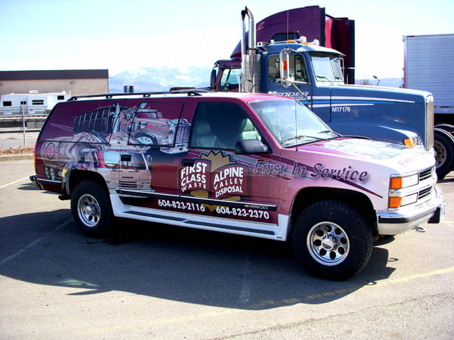 First Class Special Vehicle Wrap - Wrap Guys