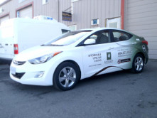 Fonwood Partial Car Wrap