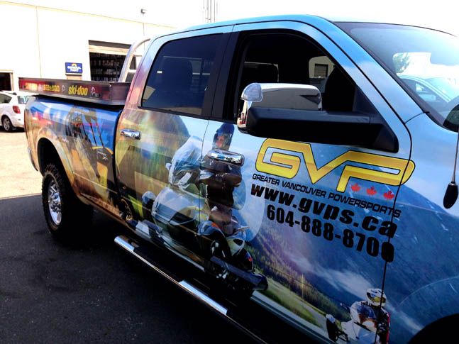 GVP Full Truck Wrap