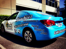 Hunky Haulers Full Car Wrap