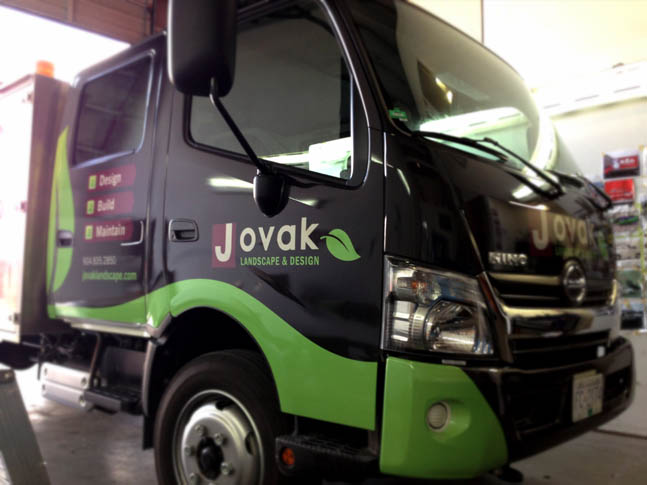 Jovak Partial Graphic Wrap - Wrap Guys