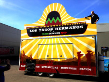 Los Tacos Hermanos Trailer Wrap