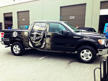 Mike's Full Truck Wrap