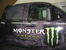 Monster Full Truck Wrap