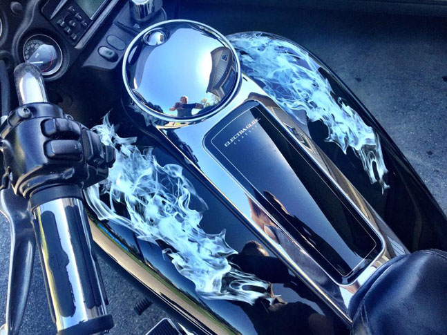 Motorcycle Custom Wrap