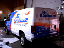 Mr Appliance Full Graphic Wrap