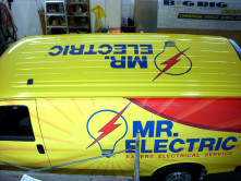 Mr. Electric Full Van Wrap