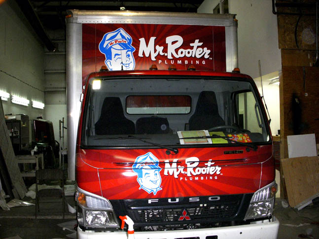 Mr Rooter Custom Wrap