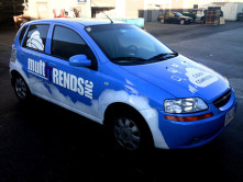Multi Trends Full Vehicle Wrap
