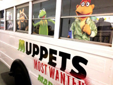Muppets Bus Graphic