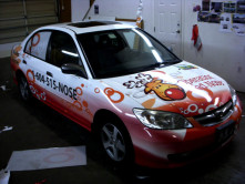 Operation Red Nose Full Car Wrap