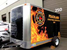 Peachland Trailer Wrap