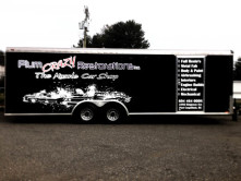 Plum Crazy Trailer Wrap