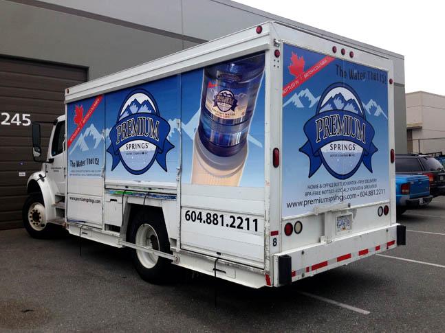 Premium Truck Wrap