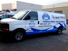 Premium Full Van Wrap