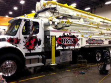 R&S Concrete Pump Wrap