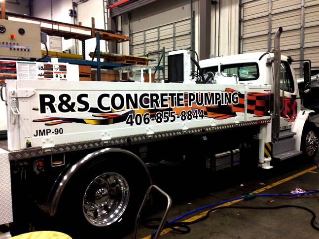 R&S Work Truck Wrap