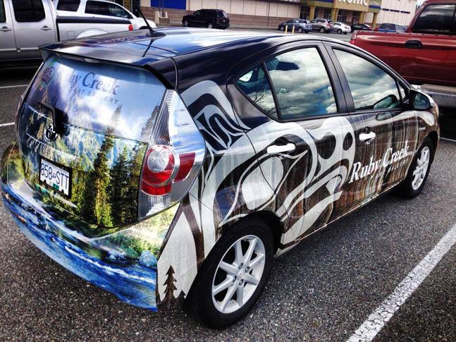 Ruby Creek Full Car Wrap