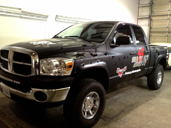 Sea-to-Sky Full Truck Wrap