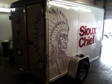 Sioux Chief Trailer Graphic