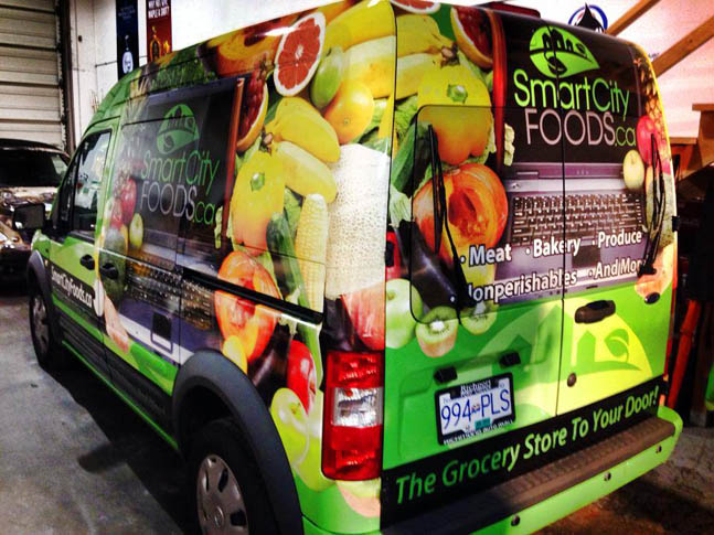 Smart City Foods Full Wrap
