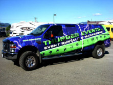 Thunder Events Full Truck Wrap
