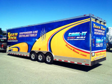 Tiger Tool Trailer Wrap