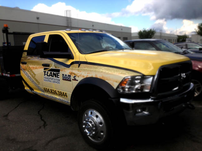 T-Lane Full Truck Wrap
