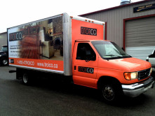 Troico Full Truck Wrap