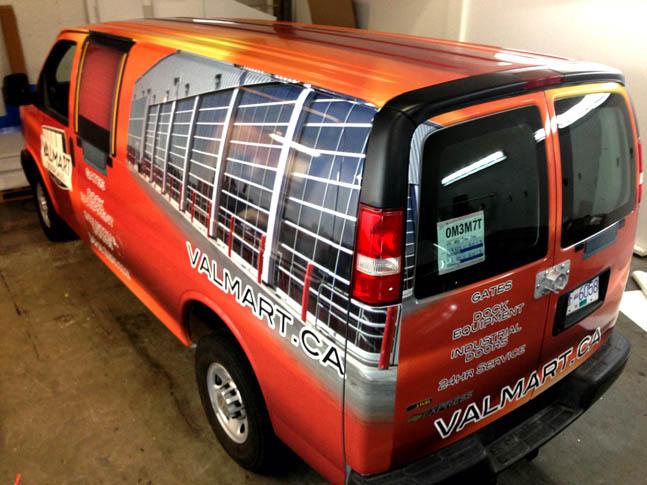 Valmart Full Truck Wrap