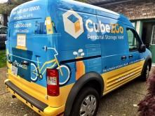 Cube2Go Vinyl Van Wrap