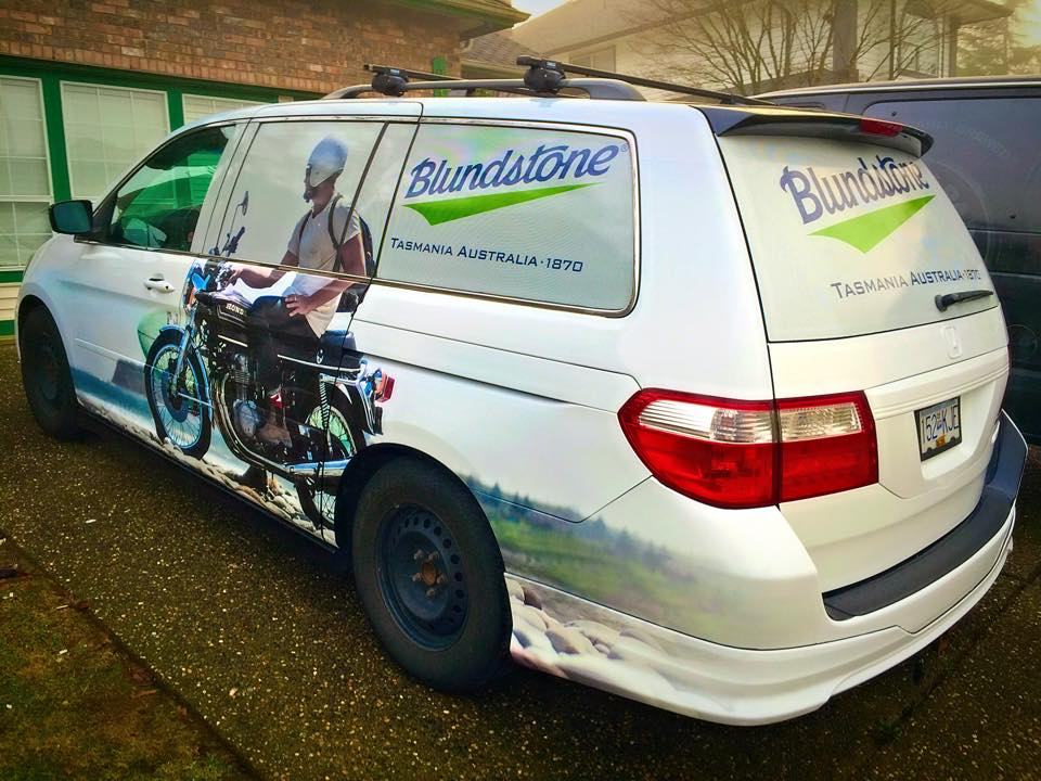 Full Vehicle Van Wrap