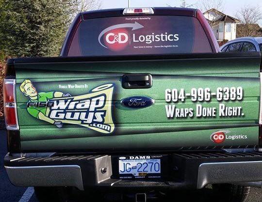 Full Vinyl Truck Wrap